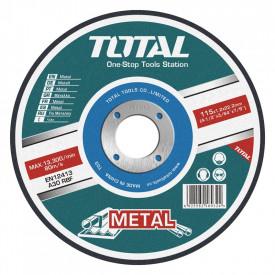 TOTAL - Disc debitare metale - 180mm