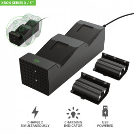 TRUST GXT 250 Duo Charging Dock for Xbox Series X / S