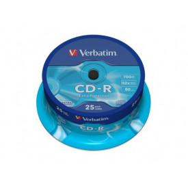Verbatim CDR52X EXT PROT 25 SPINDLE DL