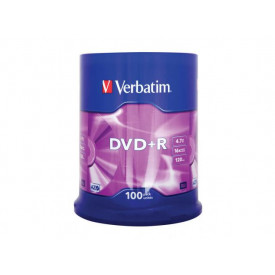 Verbatim DVD+R 16X 100 SPINDLE 4.7GB