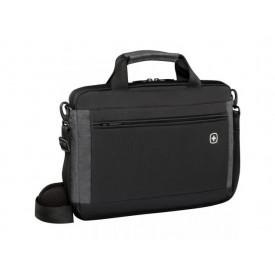 Wenger Incline, 16 inch Laptop Slimcase w/ Tablet Pocket, Black