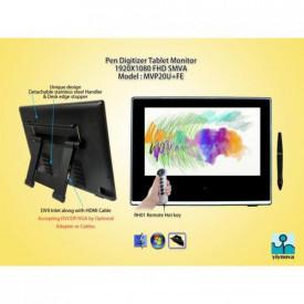 Yiynova Monitor interactiv 20, LED, Full HD