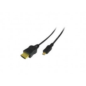 MediaRange HDMI Cable Version 1.4 with Gold-Plated black 1M