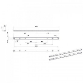 OMB Adaptor VESA pentru IN-OUT, de la 400 la 600/800