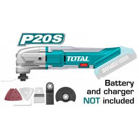 TOTAL - Unealta multifunctionala - Li-Ion - 20V