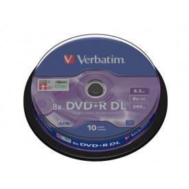 Verbatim DVD+R DOUBLE LAYER 10SPD 8.5GB
