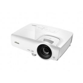 Vivitek Full HD 1080p, 3500 lumeni, contrast 15.000:1, lampa de 10.000 ore, VGA, HDMI
