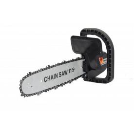 Accesoriu fierastrau cu lant pentru polizor unghiular Ax 10 mm