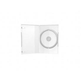 MediaRange Carcasa DVD Case Single Clear 14mm