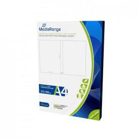 MediaRange Inserts for 14mm DVD Cases, matte-coated, Pack 50