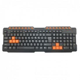 OMEGA GAMING KEYBOARD OK-26US - USB black/orange