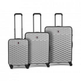 Wenger Lumen Hardside Luggage Set, Silver ( R )