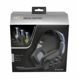 Gioteck - HC2 Wired Stereo Gaming Headset Decal Edition for PS5, PS4, Xbox Series, Xbox One, Switch & Mobile MULT Multi-Platform