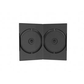 MediaRange DVD Case Double black 14mm