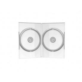 MediaRange DVD Case Double Clear 14mm