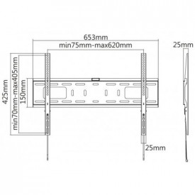 Reflecta PLANO Flat 70-6040 , 37-70 inch