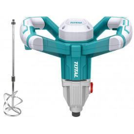 TOTAL - Mixer electric pentru mortar - 1400W (INDUSTRIAL)