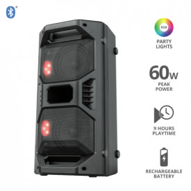 TRUST Klubb GO Bluetooth Wireless Portable Party Speaker with RG