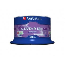 VERBATIM DVD+R DOUBLE LAYER SP50 8X