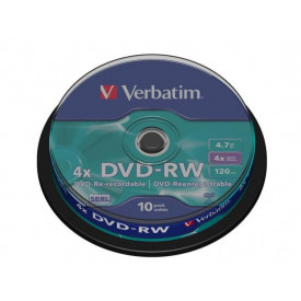 Verbatim DVD-RW SPINDLE 10