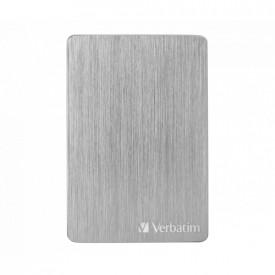 VERBATIM STORE´N´GO ALU SLIM 2.5 (6,35CM) 2TB USB 3.2 GEN1 SILVER