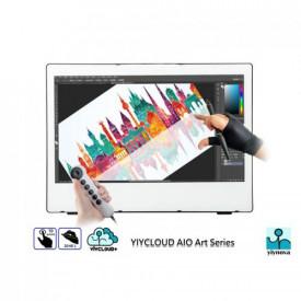 Yiynova Monitor interactiv 21.5, LED, Full HD, Format 16:9; Dual Touch