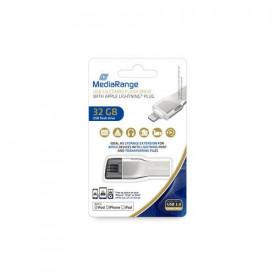MediaRange USB 3.0 combo flash w/Apple Lightning 32GB