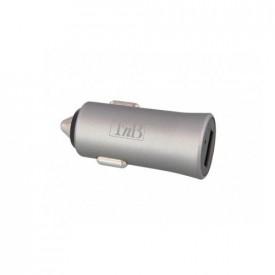 TNB 2.4A Cigar lighter charger - 1 USB port - Silver