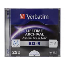Verbatim M-DISC BD-R 4X 25 GB INKJET PRINTABLE