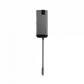 Verbatim USB-C ADAPTER USB 3.1 GEN 1/USB 3.0x3/HDMI/SDHC/MICROSDHC/RJ45