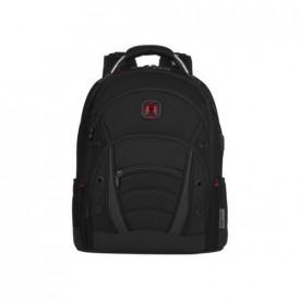 Wenger, Synergy Deluxe, Ballistic 16 Laptop Backpack, Black