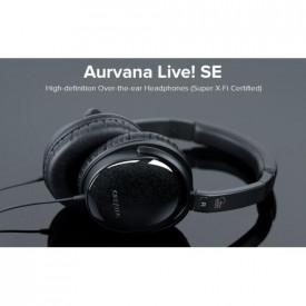 CREATIVE AURVANA LIVE! SE X-Fi - Headset, Black