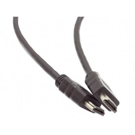 MediaRange HDMI Cable Version 1.4 with Gold-Plated black 3M