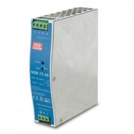 Planet 48V, 75W Din-Rail Power Supply (NDR-75-48, adjustable 48-56V DC Output)