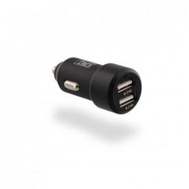 TNB 4.8A Cigar lighter charger - 1 USB port - Black
