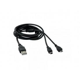 TNB USB to miniUSB & MicroUSB CABLE 2M