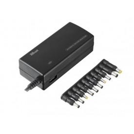 TRUST 120W Plug & Go Laptop & Phone Charger - black