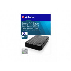 Verbatim Store \n\ Save 3.5\ (8,89cm) GEN 2 2TB USB 3.0