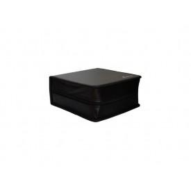 MediaRange Media storage wallet for 400 discs, synthetic leather