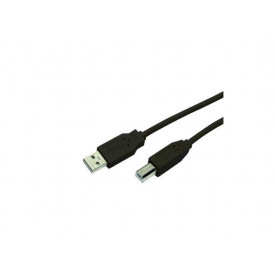 MediaRange Printer Connection Cable 1.8M, usb 2.0 , black