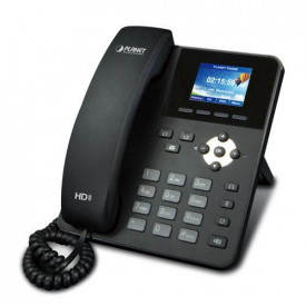Planet High Definition Color POE IP Phone: (2.4-inch Color LCD, G.722 HD Voice, 2 SIP Lines, Multi-