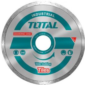 TOTAL - Disc diamantat continuu - ceramica - umed - 230mm