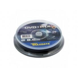 TRAXDATA DVD+R 8.5GB 8X DOUBLELAYER CAKE10