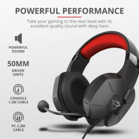 TRUST GXT 323 Carus Gaming Headset