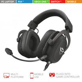 TRUST GXT 414 Zamak Premium Multiplatform Gaming Headset
