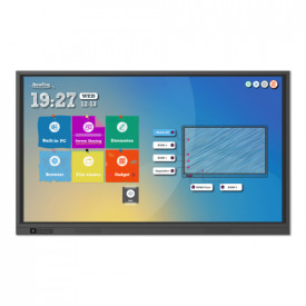TT-6519RS - touch panel 65, 20 points multi-touch, resolution 4K, Newline Smart System Android 8.0 based, 3 years warranty, optional OPS PC, Software: IdeaMax , Teach Infinity , Trucast Express