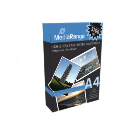 MediaRange A4 photopaper glossy 100 sheets 160g