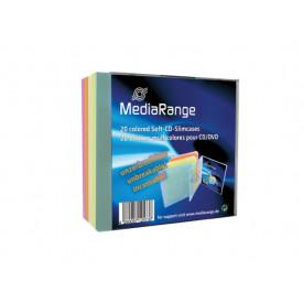 MediaRange CD-Soft-Slimcase Color Pack 20