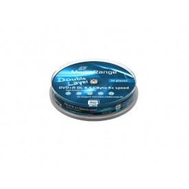 MediaRange DVD+R Double Layer 8.5GB 8x Cake10