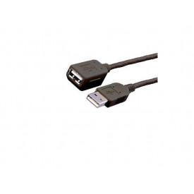 MediaRange USB Extension Cable 3M, USB 2.0 , Black